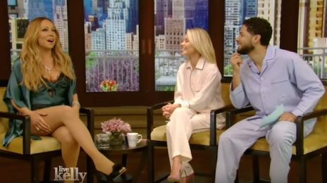 Watch: Mariah Carey Visits 'Live With Kelly' / Throws Subliminal Jab At J.Lo?
