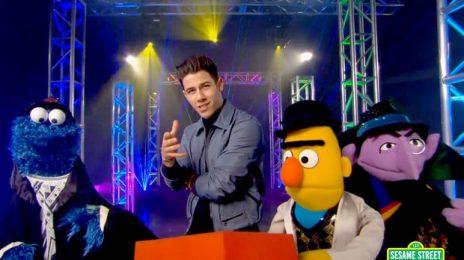 New Song:  Nick Jonas - 'Check That Shape' [Sesame Street]