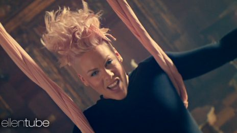 Did You Miss It?:  P!nk Previews Video For New Song 'Just Like Fire'