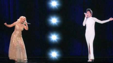 Christina Aguilera Responds To Cancellation Of Whitney Houston Hologram