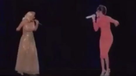 Sneak Peek: Christina Aguilera Duets With Whitney Houston Hologram