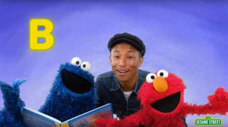 Watch:  Pharrell Williams Sings About the Magic of Reading on 'Sesame Street'