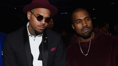 Chris Brown Weighs In On Kanye West's Shocking 'Famous' Video