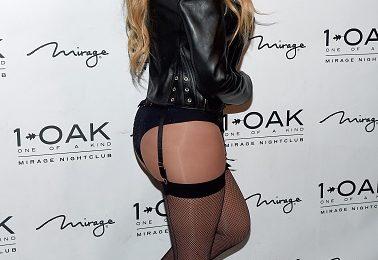 Hot Shots: Mariah Carey Bares Bottom At 1OAK