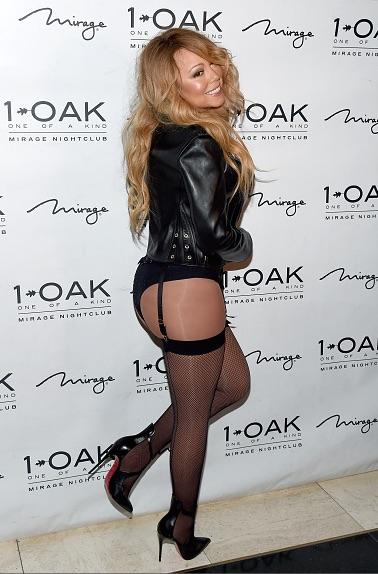 Hot Shots: Mariah Carey Bares Bottom At 1OAK - That Grape ... мэрайя кэри