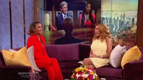 "Hilarious! Vivica Fox Visits 'Wendy' / Says She's Still Not Here For ""Toxic Trick"" Kenya Moore"