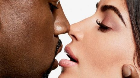 "Kanye West & Kim Kardashian Crowned ""Icons"" By Harper's Bazaar"