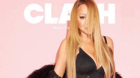 Mariah Carey Covers Clash Magazine