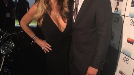 Hot Shots: Mariah Carey Mingles At Leonardo DiCaprio Fundraiser