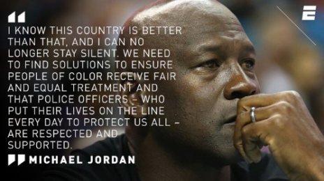 Did Boycott Fears Prompt Michael Jordan's 'Black Lives Matter' Statement