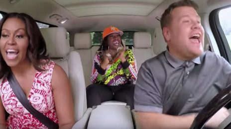 Watch: Michelle Obama & Missy Elliott Turn Up For 'Carpool Karaoke'