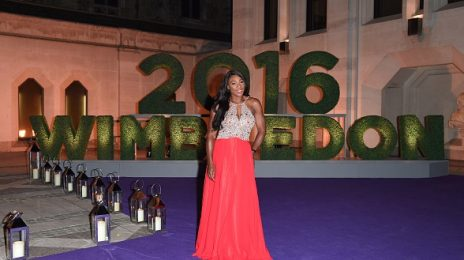 Hot Shots: Serena Williams Stuns At Wimbledon Winners Dinner