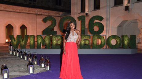 Hot Shots: Serena Williams Stuns At Wimbledon Winners Dinner