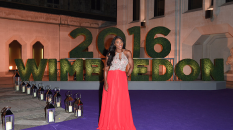 Hot Shots: Serena Williams Celebrates At The Wimbledon Champions Dinner