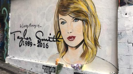 'R.I.P Taylor Swift's Career' Painting Surfaces In Melbourne