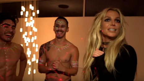 Watch:  Britney Spears Drops By 'Jimmy Kimmel' / Announces 'Glory' Preorder