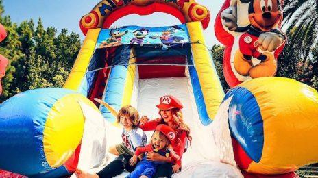 Hot Shots: Christina Aguilera Celebrates Daughter Summer Rain's Birthday
