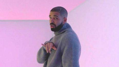 Hot Shot: Drake Pops Bottles With...Charlamagne
