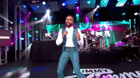 Watch: Jidenna Amazes With African Dancing On 'Kimmel'