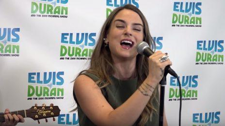 Watch: JoJo Performs 'F**k Apologies' On 'Elvis Duran'