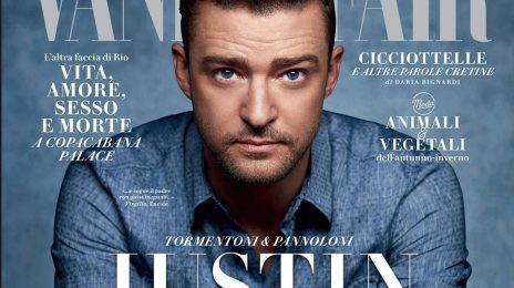 Justin Timberlake Covers 'Vanity Fair Italia'
