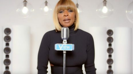 Watch: Mary J. Blige Joins 'The View' For New Theme Tune