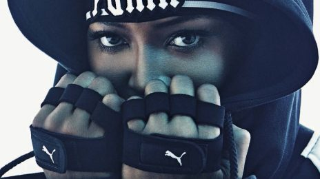 Naomi Campbell Poses In Rihanna's Puma Line