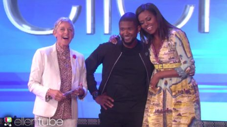 Did You Miss It?  Usher Brings 'Crash' To 'Ellen' [Watch]