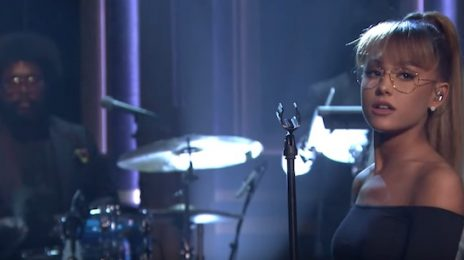 Watch: Ariana Grande Takes Vocal Flight On Fallon [Performance]
