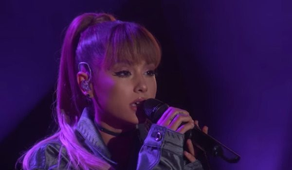 watch ariana grande soars on ellen with into you