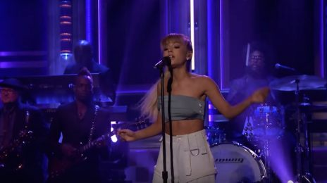 Ariana Grande Performs 'Side To Side' On 'Fallon' / Announces US Tour Dates