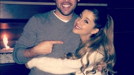 Ariana Grande Re-Signs With Scooter Braun