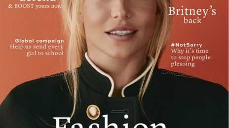 Britney Spears Covers Marie Claire