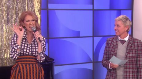 Watch: Celine Dion Belts Britney, Missy, & More Ballad-Style On 'Ellen'