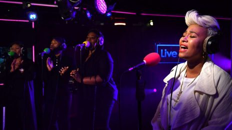Watch: Emeli Sande Soars With Rihanna Cover On BBC Radio 1 Live Lounge