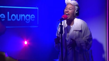 Emeli Sande Electrifies With 'Hurts' On BBC Radio 1 Live Lounge