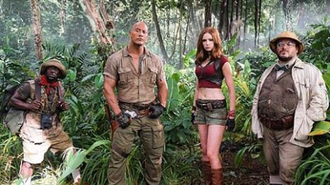 First Look: 'Jumanji' Revival [Starring The Rock & Kevin Hart]