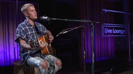 Justin Bieber Covers Tupac & Tracy Chapman On BBC Radio 1 Live Lounge
