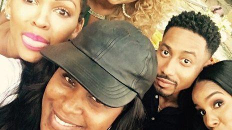 Hot Shot: Kelly Rowland, Keri Hilson, & Meagan Good Shoot 'The 10th Date'