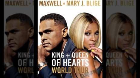 Maxwell & Mary J. Blige Announce Joint World Tour