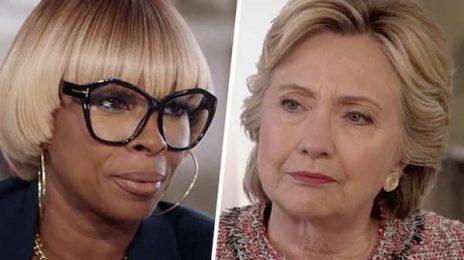 """Mary J. Blige To Hillary Skit Critics: """"Shut The F**k Up"""""""