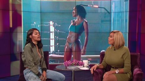 Watch: Teyana Taylor Visits 'Wendy' / Talks 'Fade' Video & More