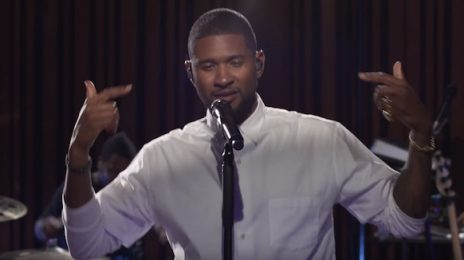 Usher Brings 'No Limit' To BBC Radio 1 Live Lounge