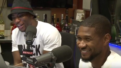 Watch: Usher Dishes On Album Sales & More On 'The Breakfast Club'