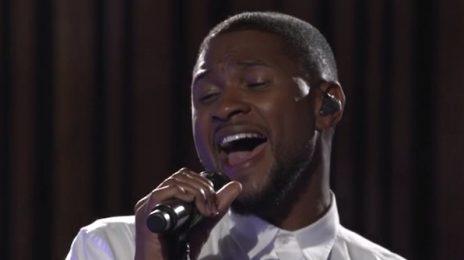 Watch: Usher Rocks BBC Radio 1 Live Lounge