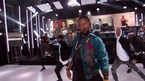 Watch: Usher Performs 'No Limit' On 'Kimmel'