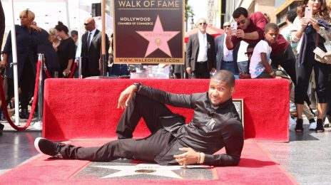 Hot Shots: Usher Receives Star On 'Hollywood Walk Of Fame'