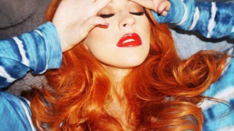 Back To Basics: Christina Aguilera Debuts Familiar Hair Do
