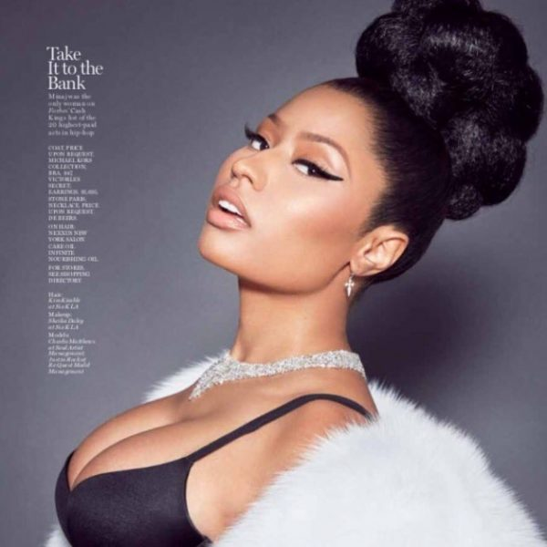 Image result for nicki minaj marie claire oct 2016