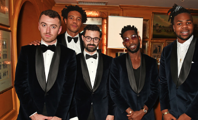 Hot Shots: Tinie Tempah, MNEK & Sam Smith Suit Up For 'The Smoking Jacket'